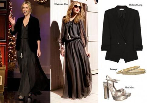 Phối vest và váy đẹp như sao Hollywood
