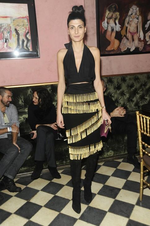 Phong cách ấn tượng của biên tập viên Vogue Italy