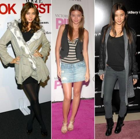 Phong cách Miranda Kerr: Từ cẩu thả đến hoàn hảo