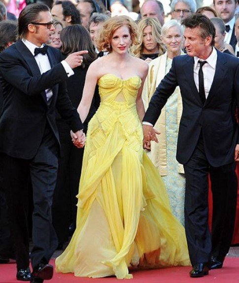Phong cách thanh lịch của Jessica Chastain