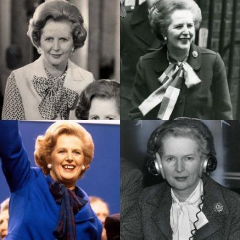 Phong cách thời trang của Margaret Thatcher
