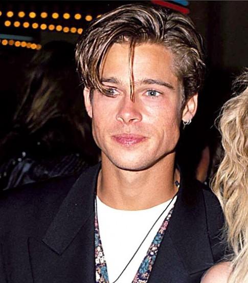 Phong cách tóc của Brad Pitt theo thời gian