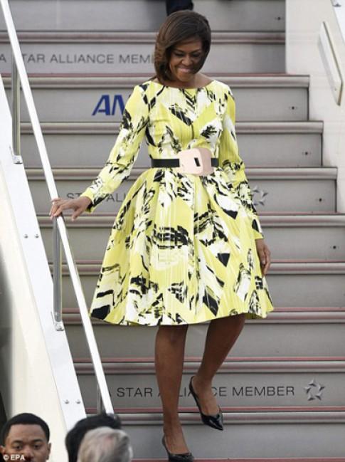 Phu nhân Michelle Obama vào top sao mặc đẹp nhất tuần