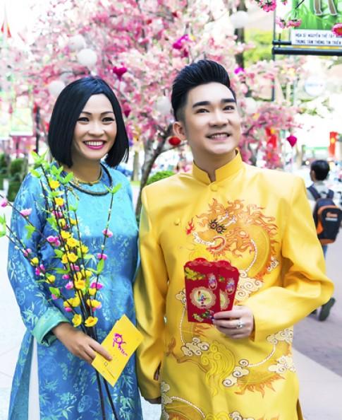 Phương Thanh, Quang Hà dạo phố Tết