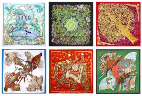 Quá trình ra đời chiếc khăn lụa của Hermes