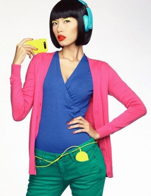 Sành điệu với thời trang color block