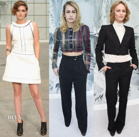Sao đa phong cách dự Tuần thời trang cao cấp Paris