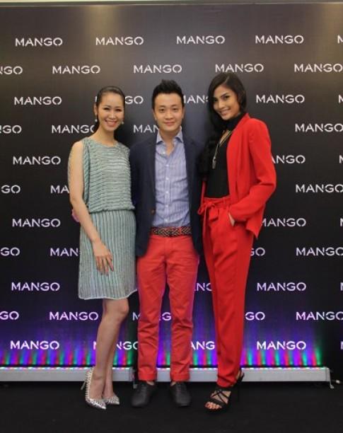 'Sao' dập dìu dự tiệc thời trang Mango