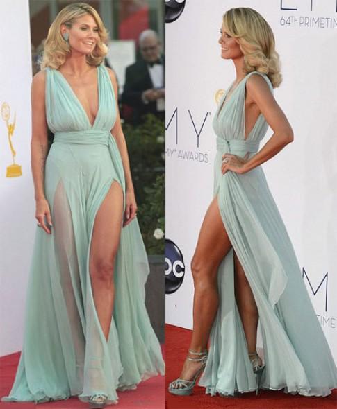 Sao đẹp trên thảm đỏ Emmy Awards 2012