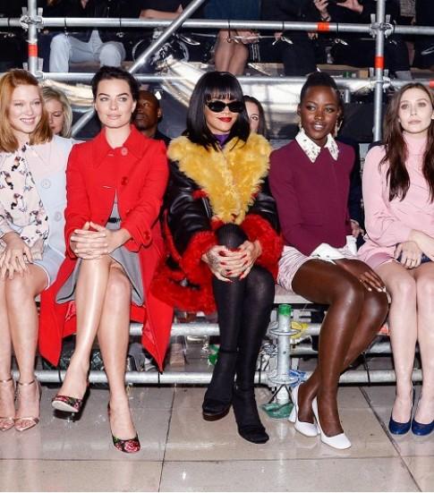 Sao đọ phong cách ở hàng ghế đầu các tuần thời trang (tiếp)