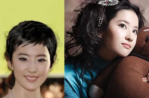 Sao gốc Hoa kém xinh vì chọn nhầm kiểu tóc