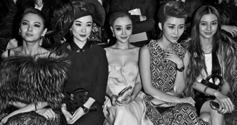 Sao gốc Hoa nổi tiếng quốc tế nhờ đi xem thời trang