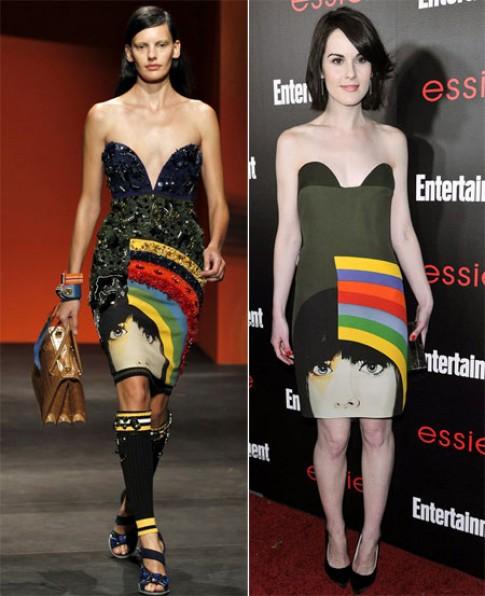 Sao gợi cảm với các thiết kế mới nhất từ sàn catwalk (2)
