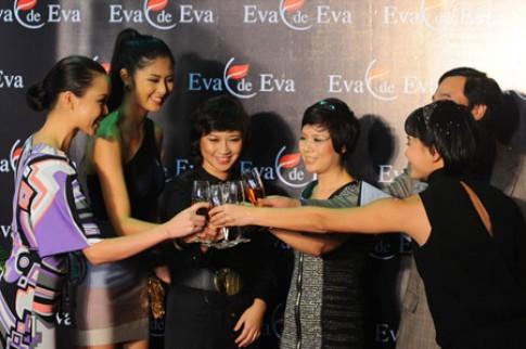 'Sao' hội tụ tại lễ khai trương showroom Eva de Eva