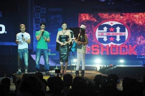 'Sao' hội tụ tại lễ kỷ niệm 30 năm ra đời đồng hồ G-Shock