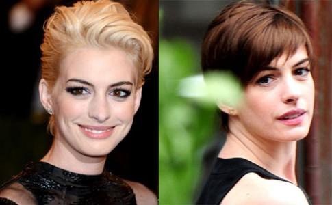 Sao Hollywood khác biệt với hai màu tóc nhuộm
