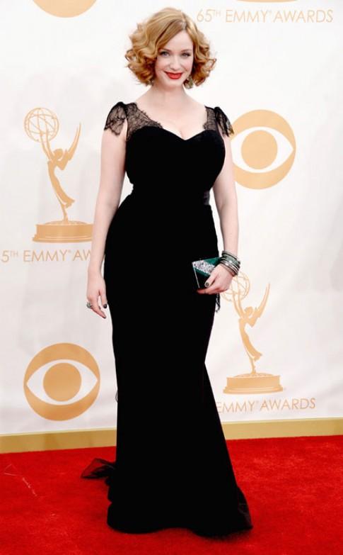 Sao lộng lẫy trên thảm đỏ giải Emmy 2013 (2)