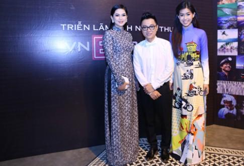 Sao Việt duyên dáng cùng tà áo dài