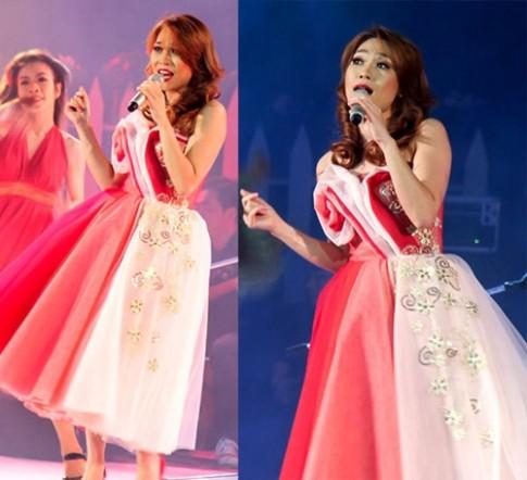Sao Việt mê mẩn váy hoa 3D