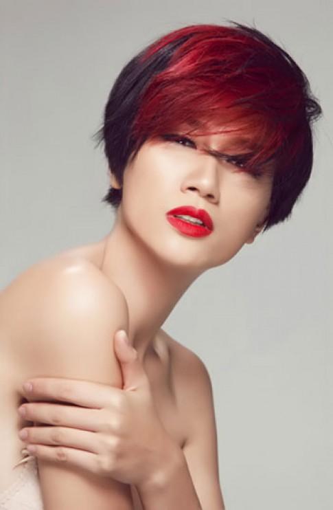 Sao Việt nổi loạn với màu tóc nhuộm rực rỡ