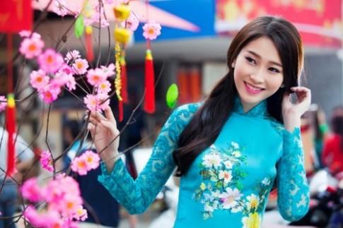Sao Việt tư vấn kiểu tóc khi mặc áo dài ngày Tết