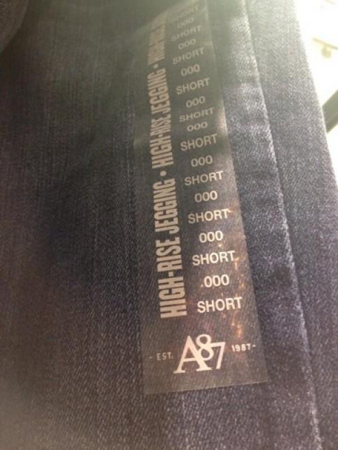 Size 000 - ác mộng mới của làng thời trang