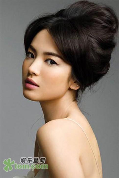 Song Hye Kyo rạng rỡ chào xuân