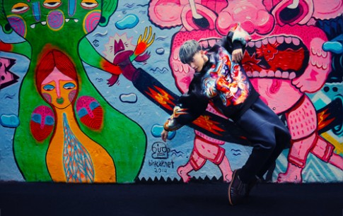 S.T nhom 365 ca tinh voi phong cach hip hop