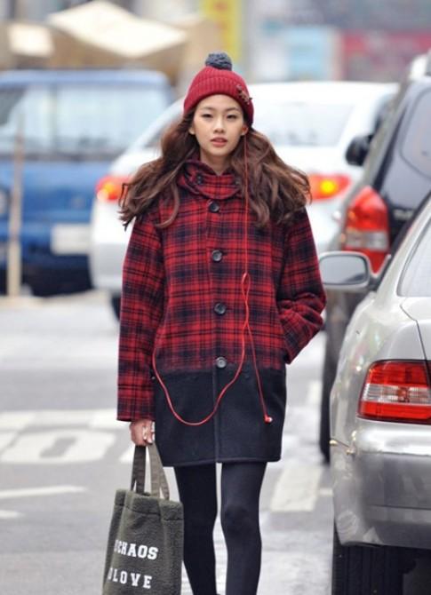 Street style của giới trẻ Hàn 4 tuần qua (tiếp)