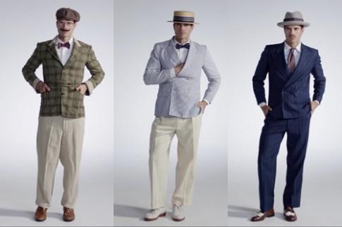 Sự biến đổi của trang phục đàn ông trong 100 năm