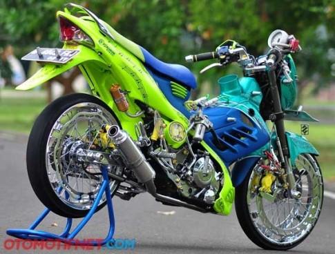Suzuki Raider 150 - độ để đua