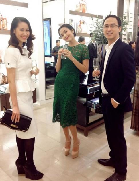 Tăng Thanh Hà đụng váy hiệu với 3 mỹ nhân Hollywood