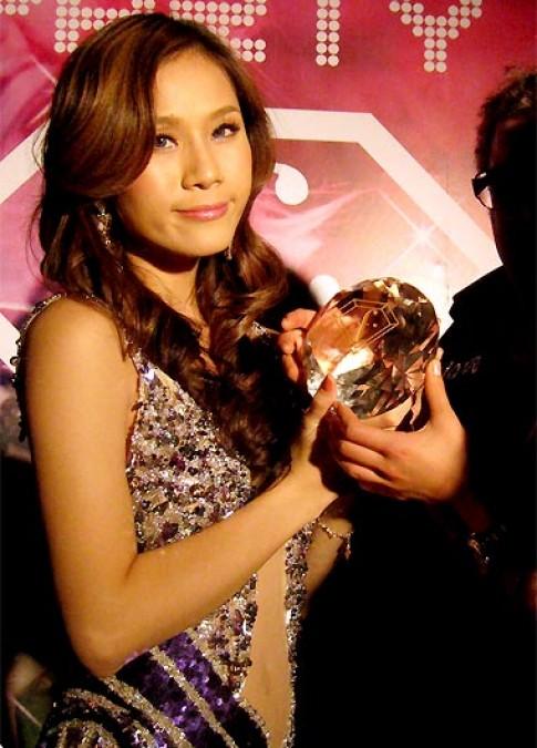 Thái Hà tranh giải Miss FTV