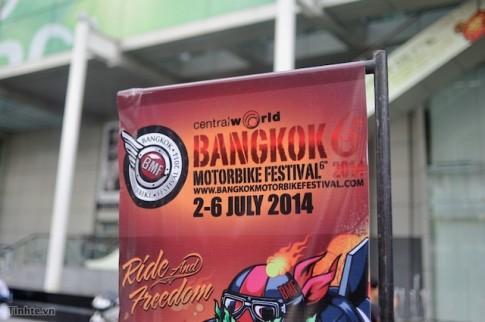 Tham quan triển lãm Bangkok Motorbike Festival 2014