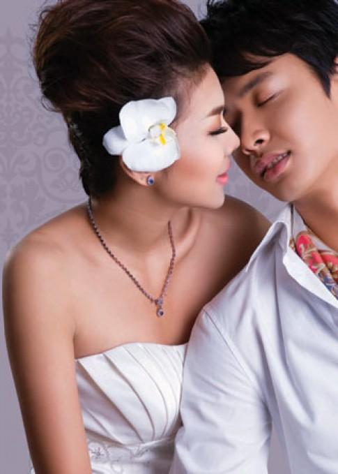 Thanh Hằng - Đức Vĩnh đẹp đôi trong trang phục cưới