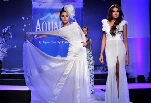 Thanh Hằng, Thu Phương đọ dáng trong váy trắng
