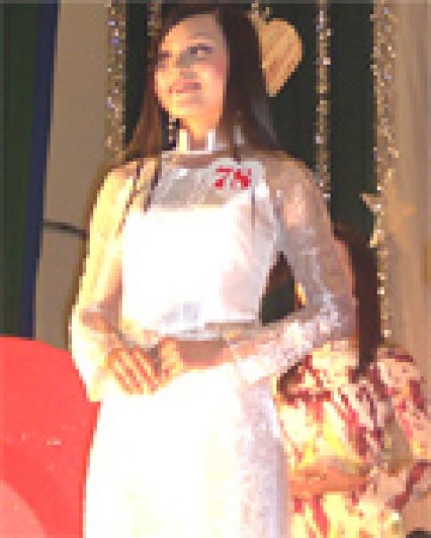 Thanh Huyền giành vương miện Miss Genetic 2005