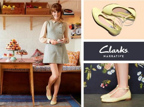 Thanh lịch và tinh tế với giày Clarks