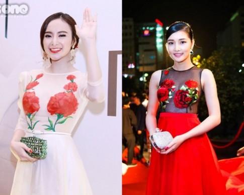 Thêm một nhà thiết kế Việt lăng xê họa tiết hoa hồng