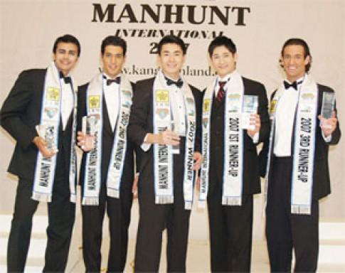Thí sinh VN đoạt giải tại cuộc thi Manhunt quốc tế
