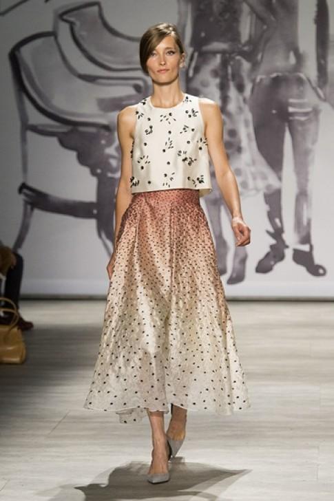 Thiết kế crop-top ở New York Fashion Week