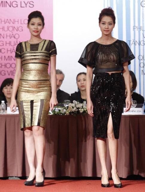 Thiết kế được giới thiệu tại Tuần thời trang Xuân Hè 2015