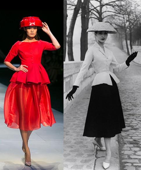 Thiết kế mới của Hoàng Minh Hà mượn ý tưởng từ Dior