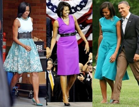 Thói quen mua sắm trang phục của Michelle Obama