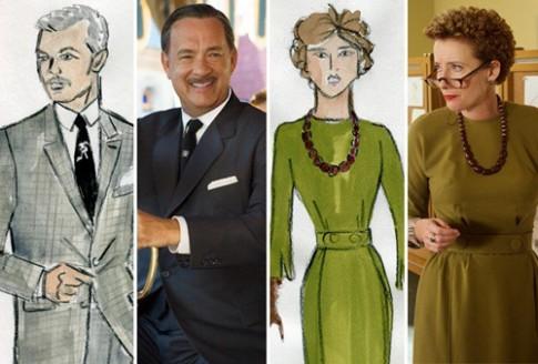 Thời trang vintage đẹp cổ điển trong phim 'Saving Mr. Banks'