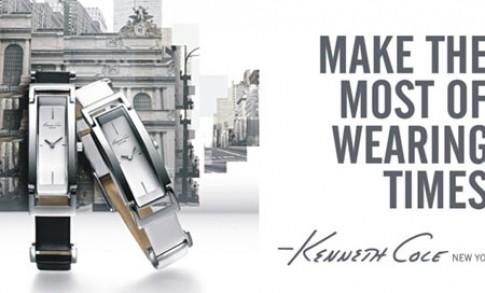 Thời trang với đồng hồ Kenneth Cole