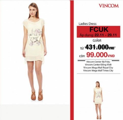 Thương hiệu thời trang giảm giá tại sự kiện Black Friday