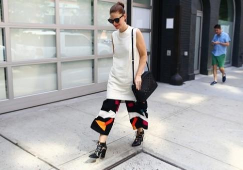 Tín đồ thời trang ở New York Fashion Week