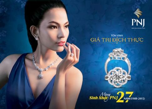 Tỏa sáng với trang sức kim cương PNJ