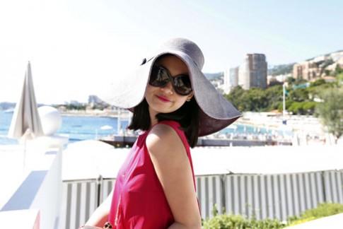 Tống Diệu Hằng chấm thi mũ 'độc' ở Monaco
